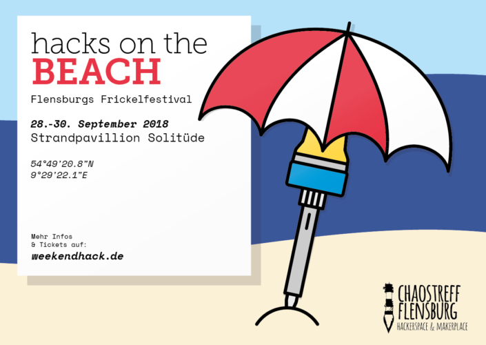 Cyber, Sand und Strand beim `Hacks On The Beach`